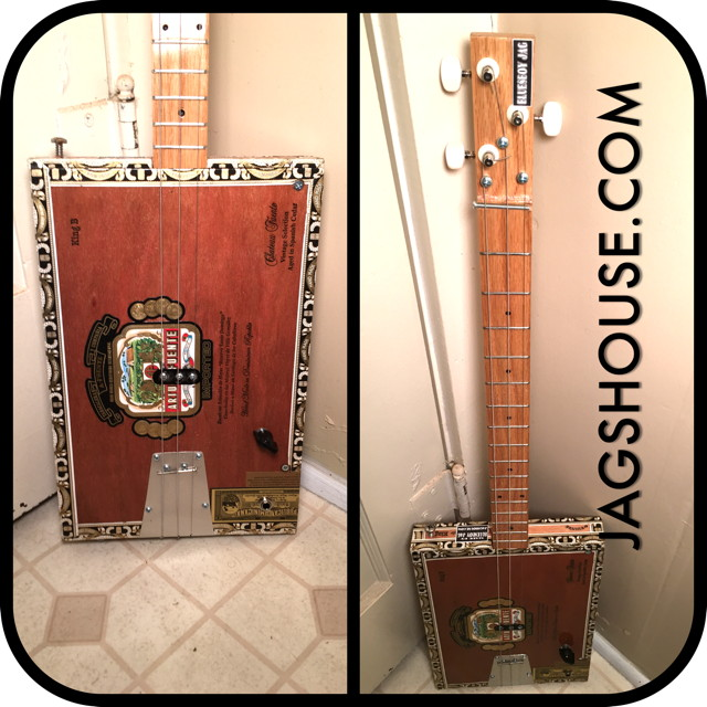 bluesboy jag various 6 string cigar box guitars starting at. Black Bedroom Furniture Sets. Home Design Ideas