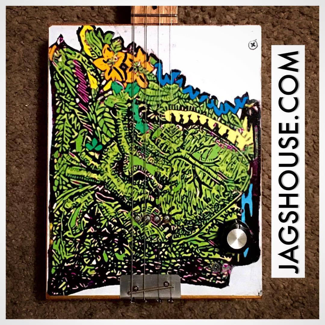 Arkansas Cigar Box Guitar