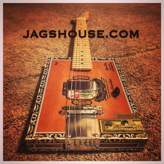 Arturo 6-String Cigar Box Guitar