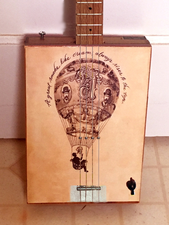 Air Balloon Cigar Box Guitar