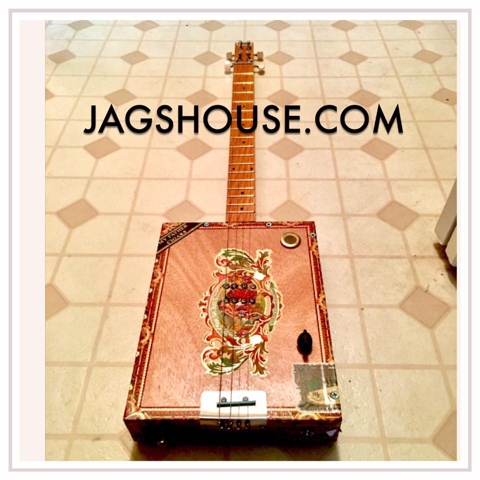 My Father's Cigars Cigar Box Guitar