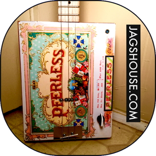 Peerless Cigar Box Guitar