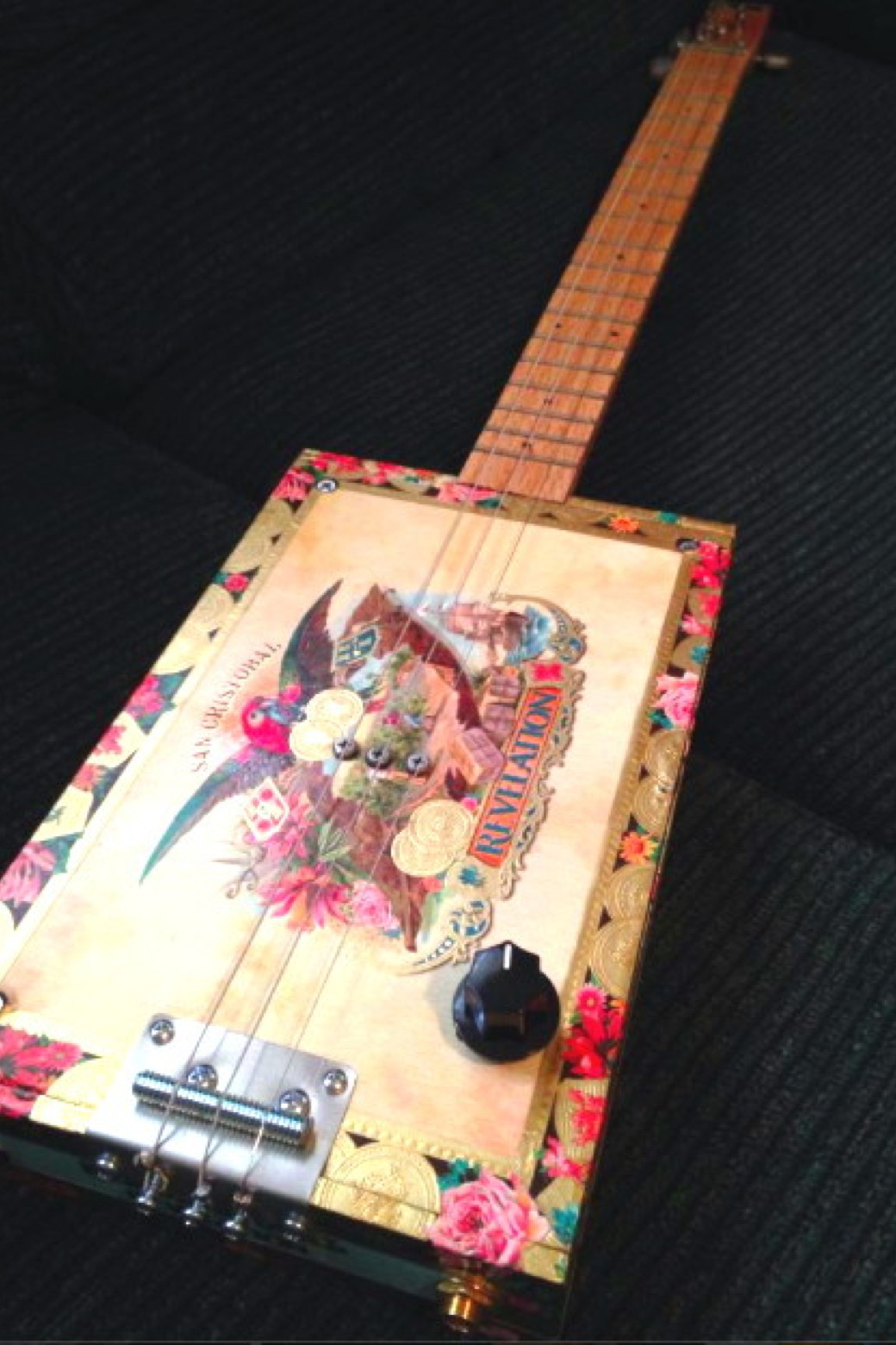 San Cristobal Cigar Box Guitar