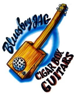 blues cigar box guitar video 1